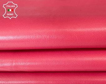 PINK ROSE Italian lambskin sheep leather skin skins hide hides 6sqf 0.6mm #A7992