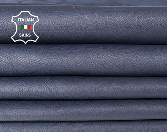 BLUE Italian Calfskin Calf cow Leather crafts bags shoes upholstery skin skins 6sqf 1.0mm #A7407