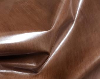 Italian Upholstery COWHIDE Cow hide skin leather car seats handbags bags BROWN DISTRESSED 11+sqf