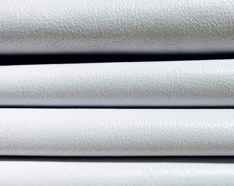Italian soft lambskin Lamb Sheep leather 12 skins hides SNOW WHITE 80-90sqf
