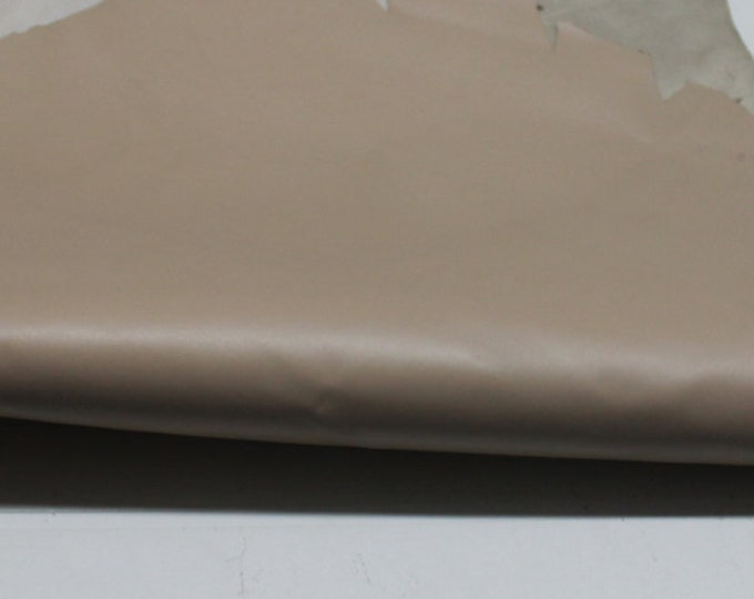 Italian strong Goatskin leather hide hides skin skins economic BEIGE 5sqf #A87