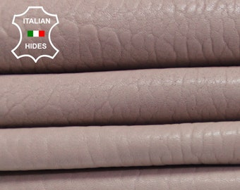 NUDE PINK GRAINY Spanish pink thick vegetable tan Italian genuine Lambskin Lamb Sheep leather 5 skins hides total 22sqf #AMP5