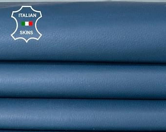 TEAL BLUE soft Italian lambskin lamb sheep leather skin skins hide hides 5sqf 0.6mm #A8319
