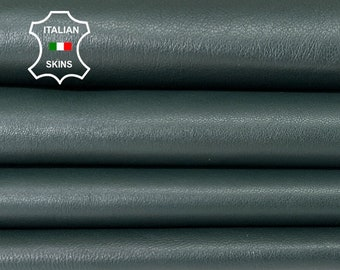 PINE DARK GREEN soft Italian lambskin lamb sheep leather skin skins hide hides 6sqf 0.9mm #A8315