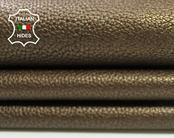 BRONZE GRAINY thick soft Calfskin Calf Cow Cowhide upholstery leather skin hide skins hides 7sqf 1.5mm #A4300