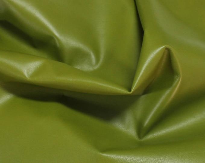 Italian Lamb lambskin leather 12 skins hides MOSS GREEN 80-90sqf
