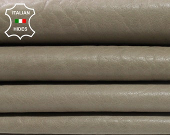 BEIGE WALNUT natural grainy vintage look vegetable tan Italian Lambskin Lamb Sheep leather 7 skins hides total 35sqf 1.1mm #A4389