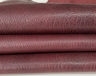 OLD WINE ROUGH rustic vegetable tan Italian Goatskin Goat wholesale leather skins 0.5mm to 1.2 mm