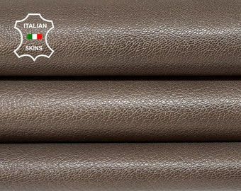 TAUPE BROWN ANTIQUED distressed Italian goatskin goat leather skin skins hide hides 5+sqf 0.8mm #A8412