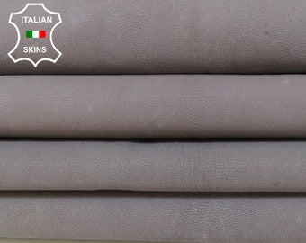 UNDYED UNFINISHED GRAY naked chrome dye strong Italian Goatskin Goat skin hide hides skins 5sqf 1.0mm #A6002