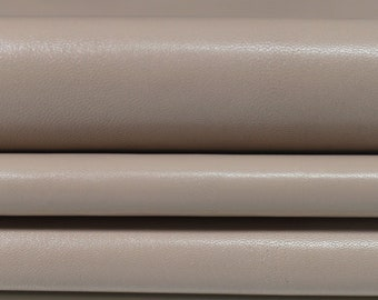 NUDE strong Italian goatskin Goat leather material for sewing 9 skins hides total 25sqf 0.6mm #A4755
