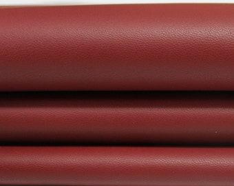 RED BRIC Italian genuine Lambskin Lamb Sheep leather skins hides
