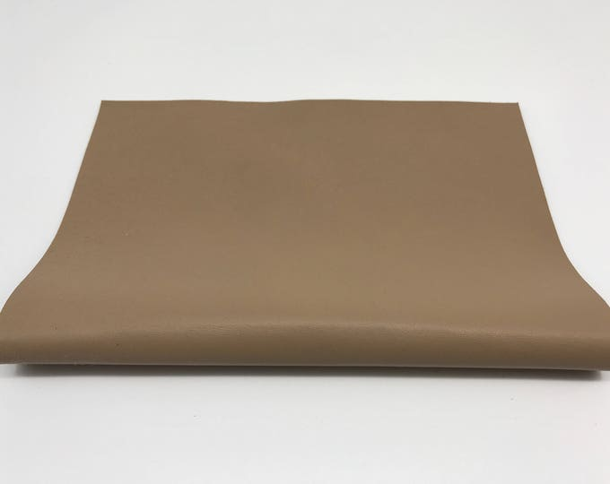 "Beige soft Italian lamb lambskin leather piece 8.27""x11.69"" - 21cmx29.7cm size A4 #CI72"