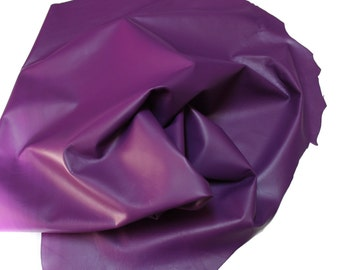 Italian lambskin leather 12 skins hides ROYAL PURPLE 80-90sqf