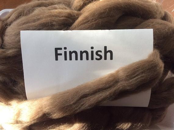 White Icelandic Top dyeing or felting great for spinning Icelandic Roving 100 grams