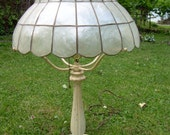Antique Bradley Hubbard Iron Table Lamp
