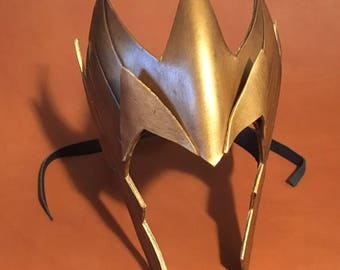 Mera Leather Mask Headpiece