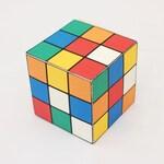 Rubik's cube printable DIY gift box, favor box, cupcake box, small mini gift box, INSTANT DOWNLOAD