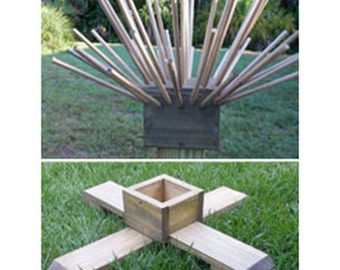 Beer Bottle Tree Cap and Base