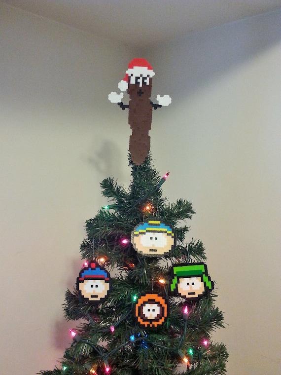 South Park Mr Hanky The Christmas Poo Perler Bead Christmas | Etsy