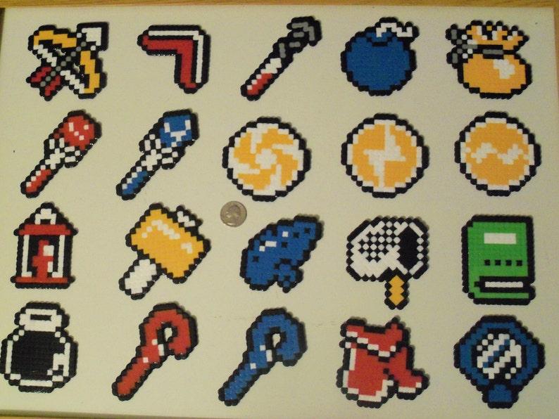 Legend of Zelda: A Link to the Past Item Christmas Ornament Set (20 Pieces)  - nintendo