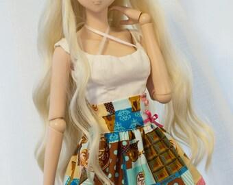 Choco Print Skirt