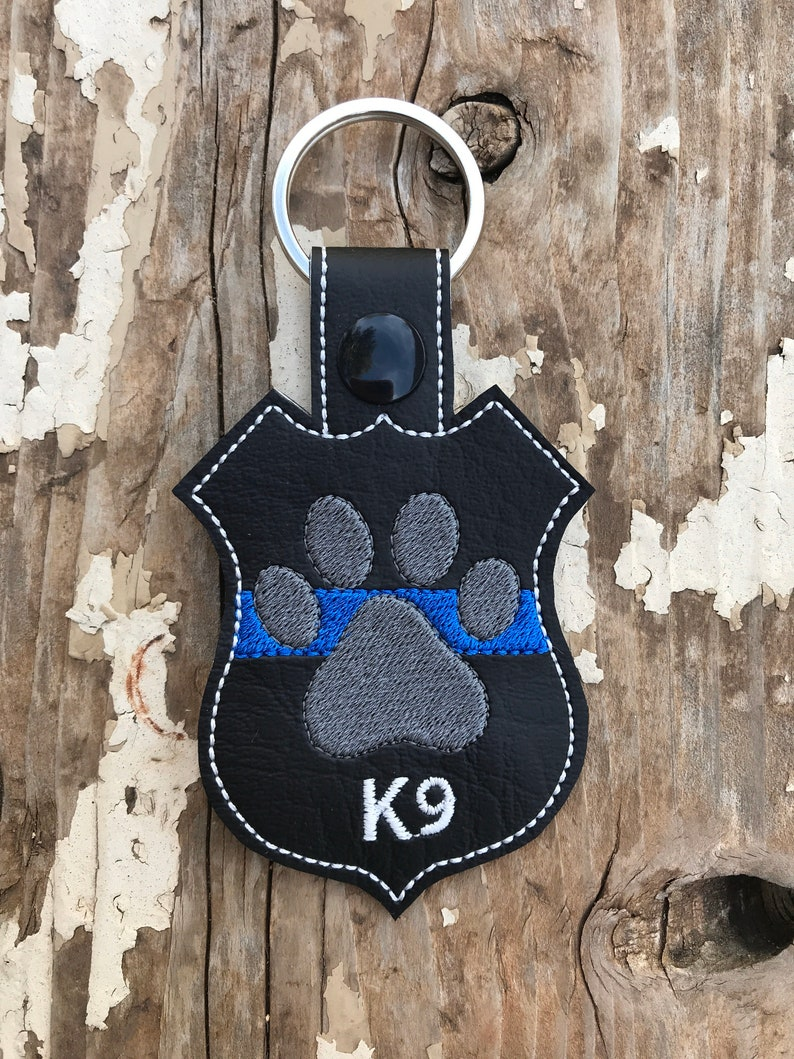 K9 officer necklace police wife necklace-custom jewelry-K