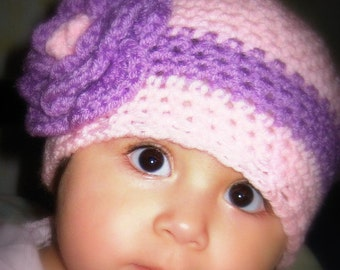 Crochet Baby Girl Hat and Leg warmers Made to Order 12 mon-3T