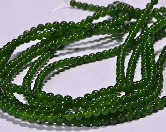 Jade 4.4mm Beads Natural Gemstone Beads Jade  Beads Jewelry Making Supplies