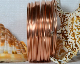 Copper Wire 14GA DS 5' feet Jewelry Making Supplies Wire Findings Copper