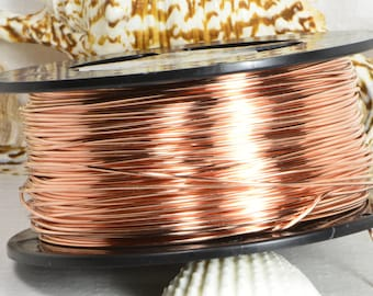 Copper Wire 18GA DS 10' Feet Jewelry Making Supplies Wire Findings Copper
