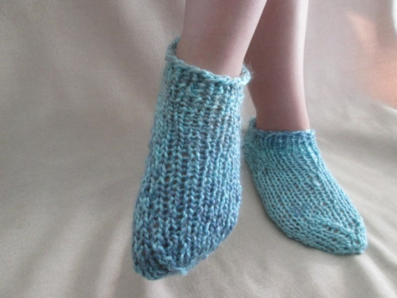 Easy Ankle Socks Knitting Pattern Footie Socks Pattern Etsy