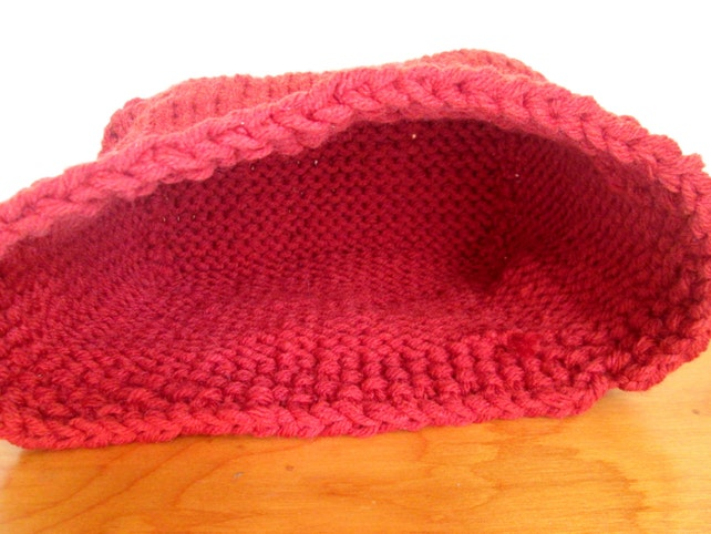 Knit Basket Pattern Knitted Bowl Pattern Diy Knit Basket Etsy
