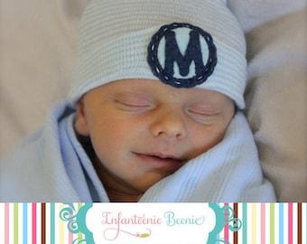 NEWBORN BOY HAT, newborn boy hat, Baby boy hospital hat, boy hospital hat, boy newborn hat, boy baby hat,