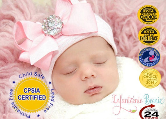 BABY GIRL HAT newborn baby newborn hospital hat newborn girl  885994605cc
