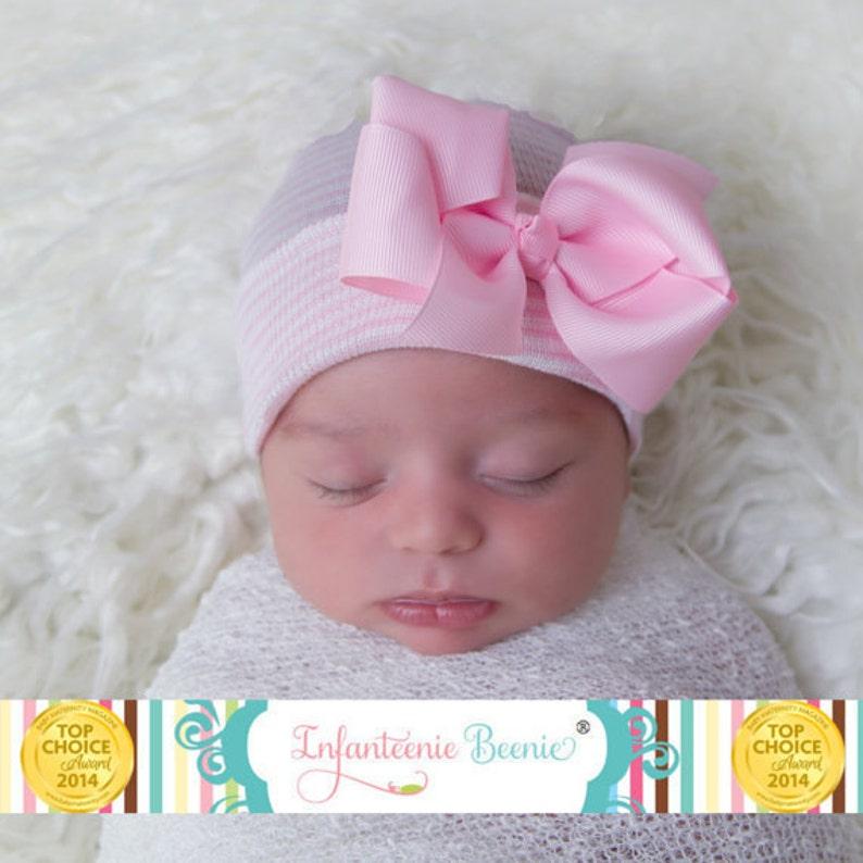047af0c605b Newborn hat baby girl hat newborn girl hat baby girl hat