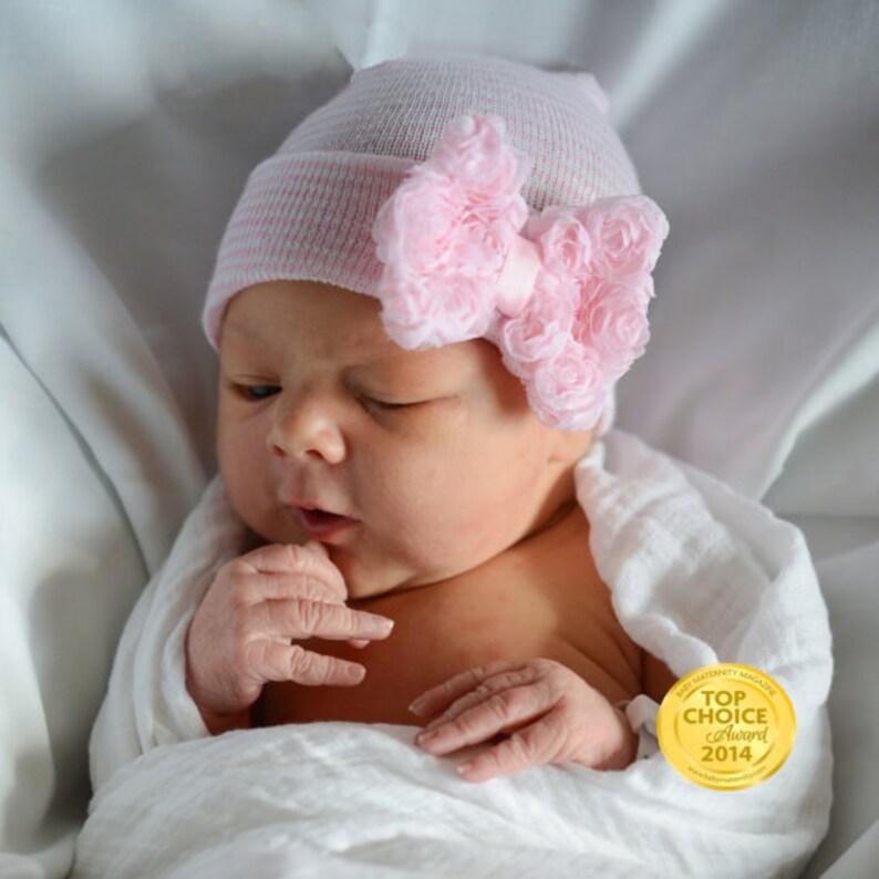 bb43adb20a2 MORE COLORS Baby girl hat newborn girl hat newborn hospital