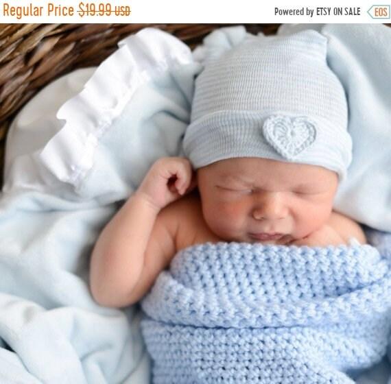 FALL SALE newborn boy hat newborn boy hospital hat newborn boy  65714352f007