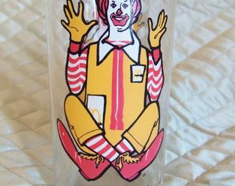 1977 Ronald McDonald Collecter Series Glass