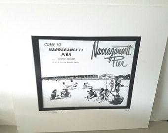 Narragansett Rhode Island  silver gelatin print