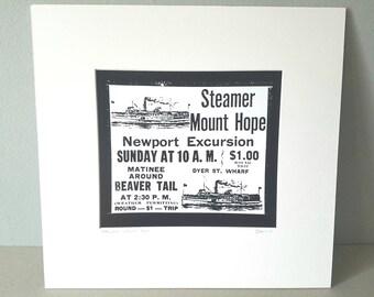 Newport Rhode Island silver gelatin print