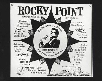 Rocky Point Park Frank Sinatra Jr.  gelatin silver print Rhode Island