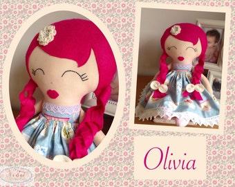 Olivia Keepsake Doll