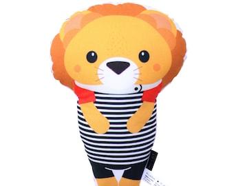 Lion Softie - Pillow, Nursery, Plush