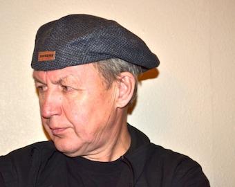 68edc3d42817b Vintage Dockers gray wool cap Newsboy driver hat golf hat winter unisex hat  Unisex hat excellent condition vintage cap Father s Day gift