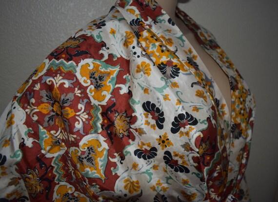 Vintage Oriental Style Dress 60's Star of Siam Han