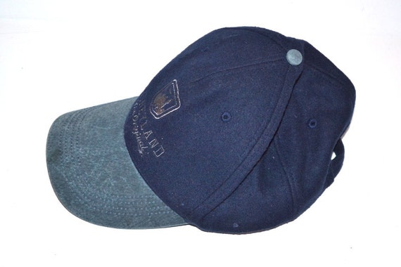 Vintage Disneyland Resort wool blend navy blue cap golf hat  51e67989100