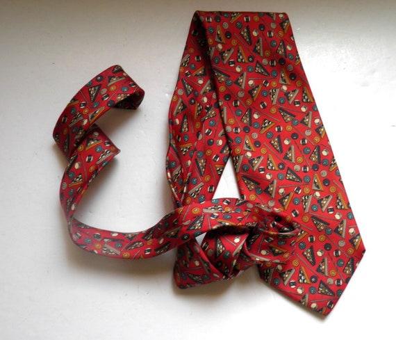 Hand-Tailored in USA Men/'s Murano Collezione 100/% Silk Tie