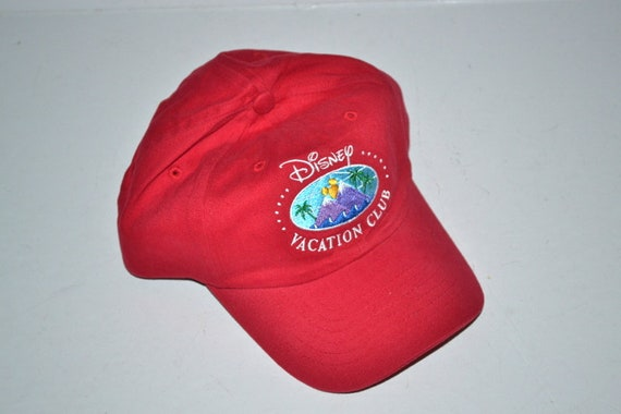 2cc34453c8e Vintage Disney World Mickey Mouse Baseball trucker Hat Cap red