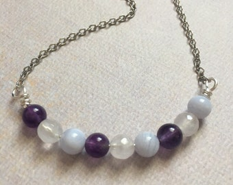 Stress relief necklace
